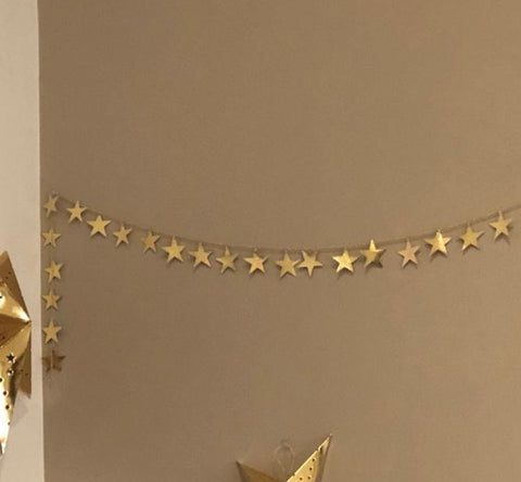 Ramadan nights - Metal Star garland