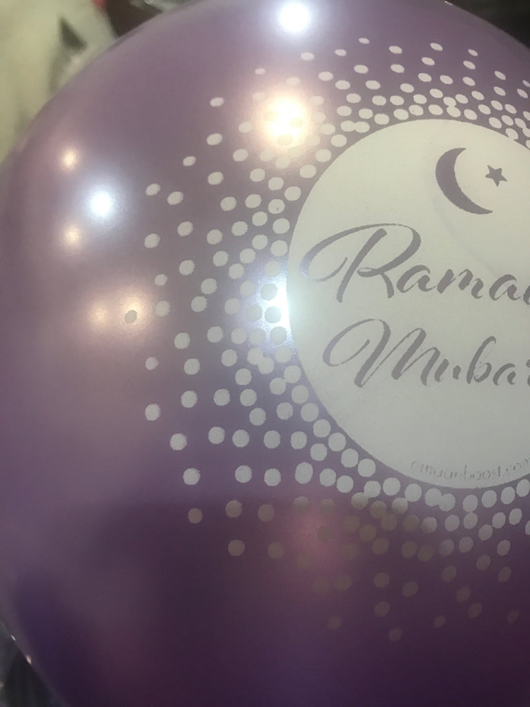 Ramadan Mubarak Purple metallic - AIR