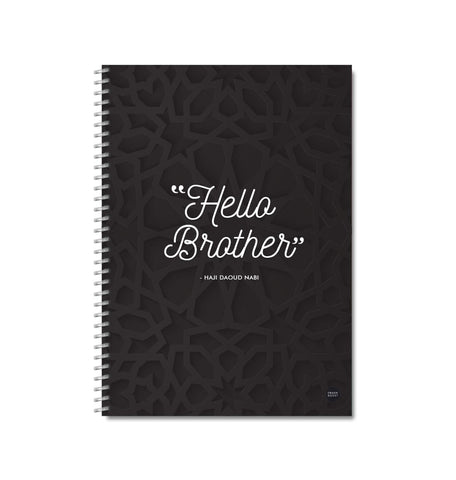 Hello Brother - Fundraiser Notebook