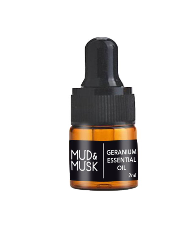 Organic Geranium Essential Oil (2ml)
