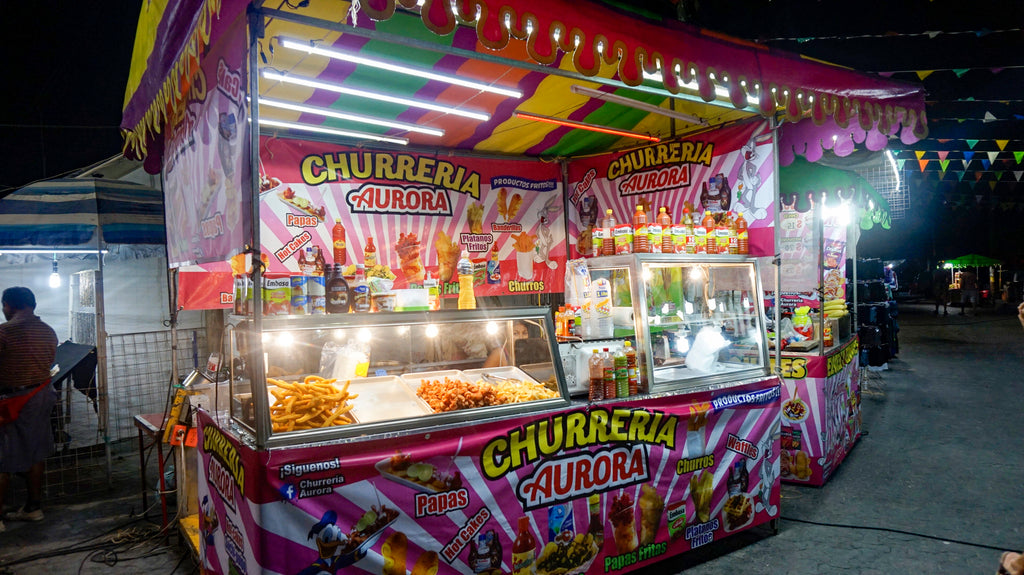 Churro stand in tulum