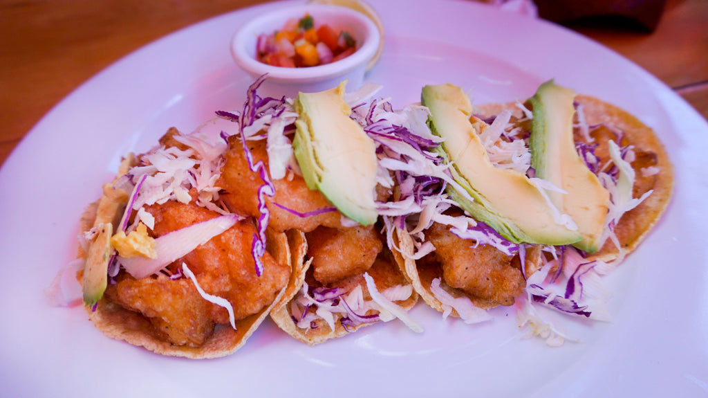 fish tacos in tulum