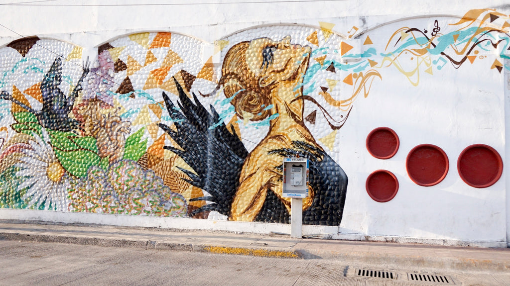 street art in Tulum