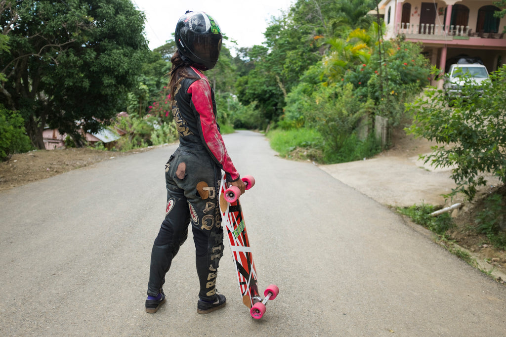 Pam Diaz Dominican Republic Downhill Longboarder