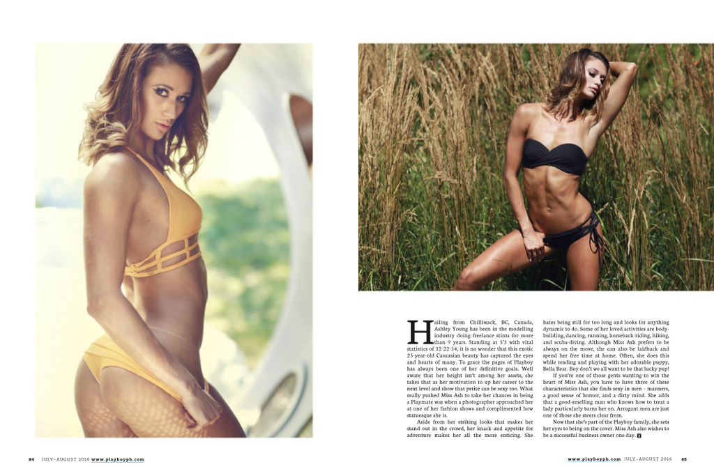 Playboy phillippines with ashley young, bikini empire