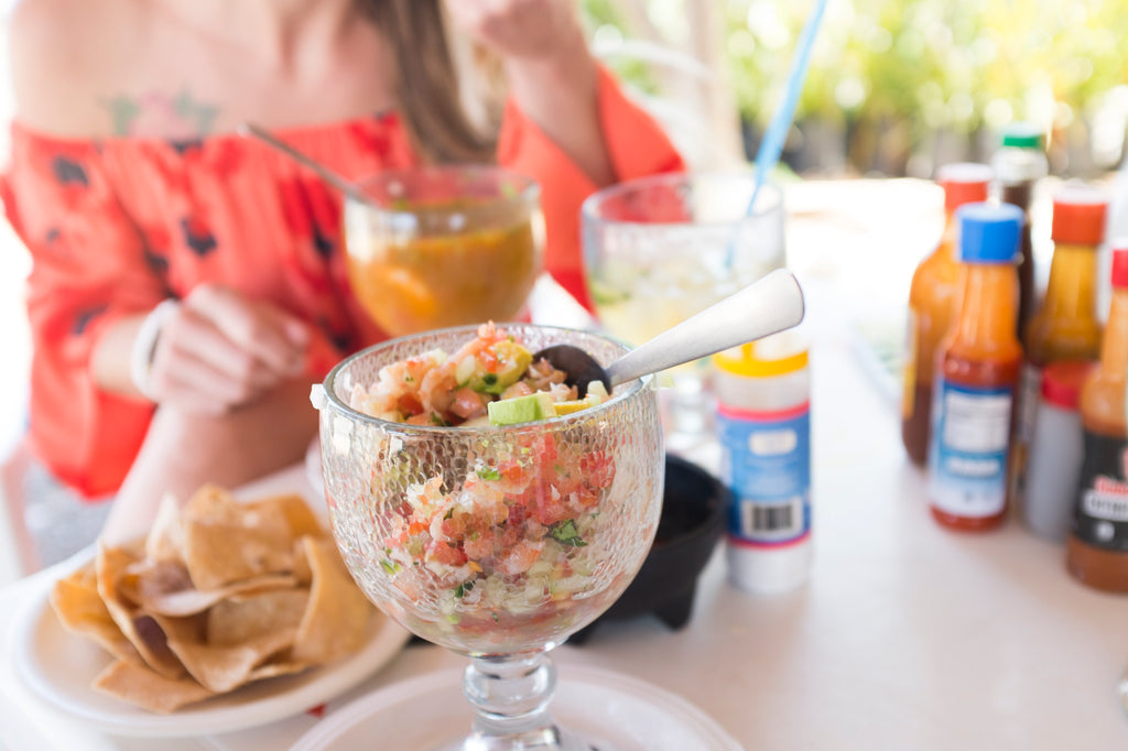 The best Ceviche in Todos Santos