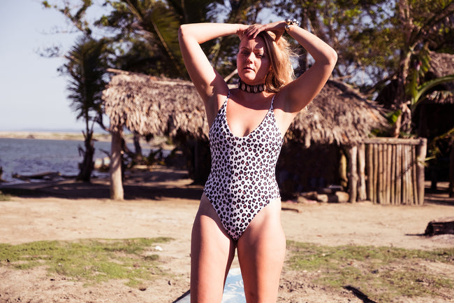 Vesper One Piece in Leopard
