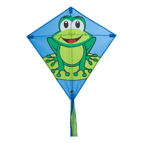 Eddy Funny Frog Diamond Kite - SKY HIGH KITES
