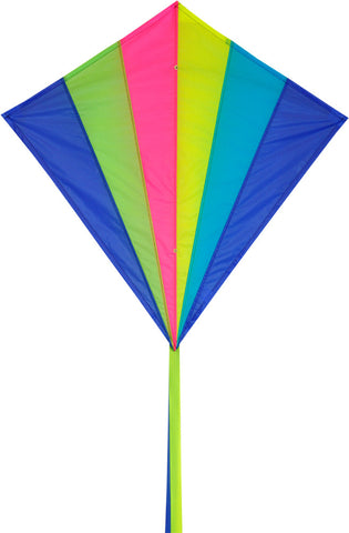 Classic Diamond Neon Kite - SKY HIGH KITES