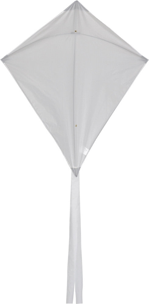 Classic Diamond Kite - White - SKY HIGH KITES