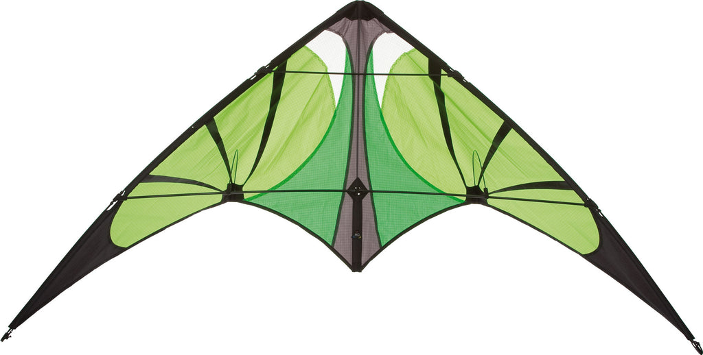 HQ Bebop Lime Stunt Kite - SKY HIGH KITES