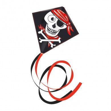 Gunther Pirate Skully Diamond Kite - SKY HIGH KITES