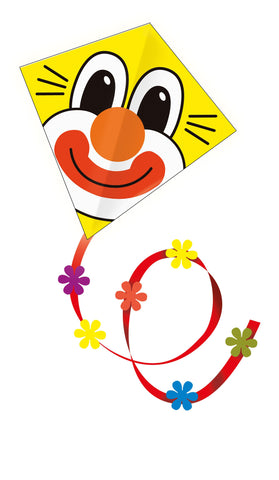 Gunther Clown Diamond Kite - SKY HIGH KITES - 1