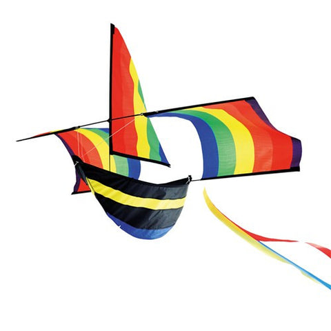 3D Rainbow Boat Kite - SKY HIGH KITES