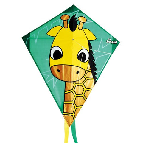 Safari Giraffe Diamond Kite - SKY HIGH KITES