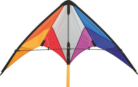 HQ Calypso II Rainbow Stunt Kite - SKY HIGH KITES