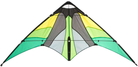 HQ Cirrus Emerald Stunt Kite - SKY HIGH KITES
