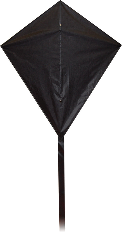 Classic Diamond Kite - Black - SKY HIGH KITES