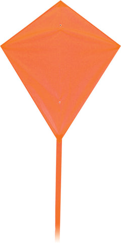 Classic Diamond Kite - Orange - SKY HIGH KITES