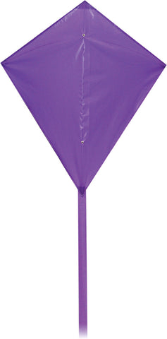 Classic Diamond Kite - Purple - SKY HIGH KITES