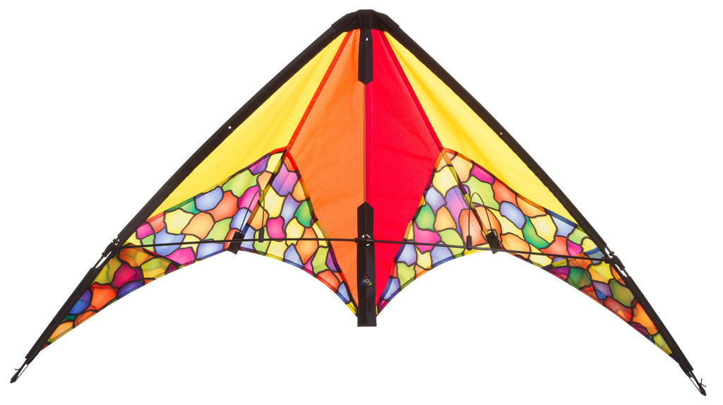 HQ Calypso II Dazzling Colours Stunt Kite - SKY HIGH KITES