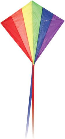 Classic Diamond Rainbow Kite - SKY HIGH KITES