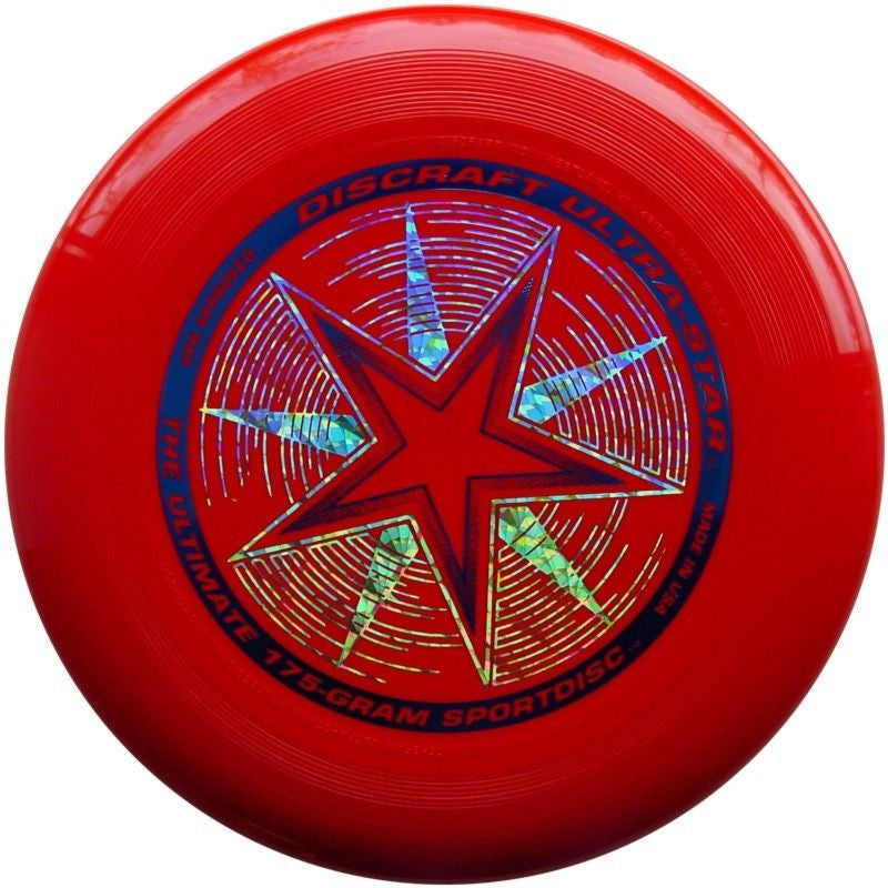 Discraft 175g Frisbee - Red - SKY HIGH KITES