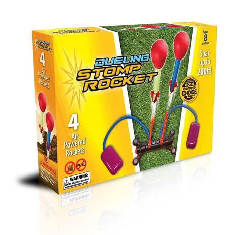 Dueling Stomp Rocket Kit - SKY HIGH KITES