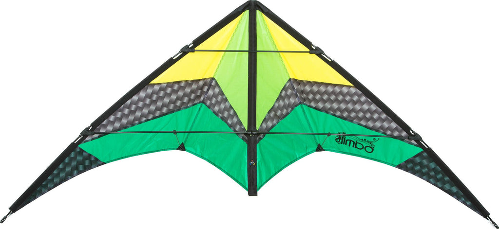 HQ Limbo II Stunt Kite - Emerald - SKY HIGH KITES