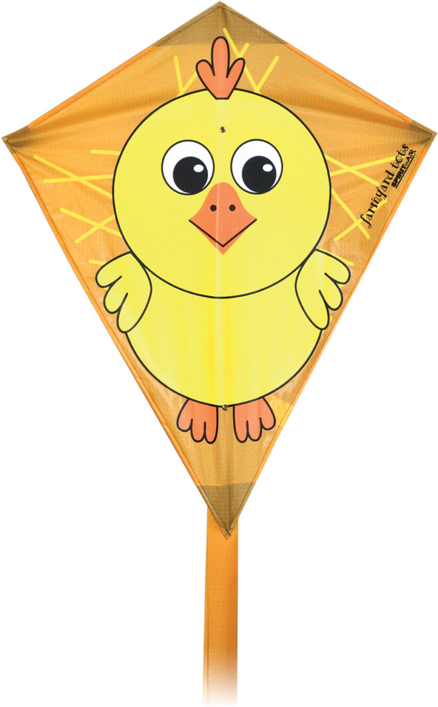 Farmyard Tots Diamond Kite - Chick - SKY HIGH KITES