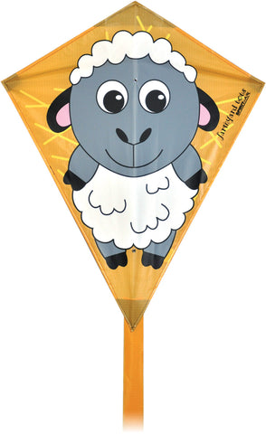 Farmyard Tots Diamond Kite - Sheep - SKY HIGH KITES
