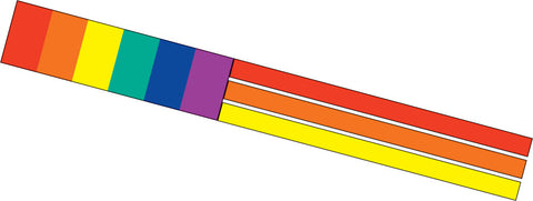 Flag Windsock - Rainbow - SKY HIGH KITES