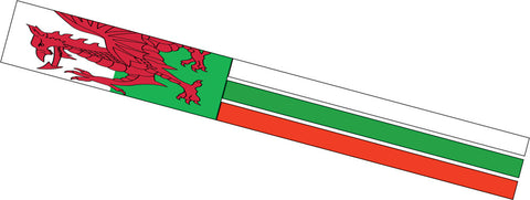 Flag Windsock - Welsh Dragon - SKY HIGH KITES
