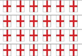 St George Cross Bunting - SKY HIGH KITES