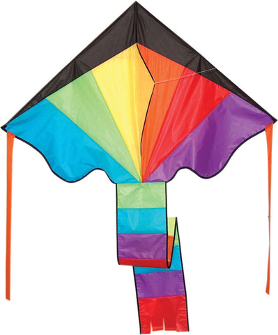 Giant Delta Rainbow Flyer Kite - SKY HIGH KITES