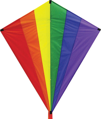 Giant Rainbow Diamond Kite - SKY HIGH KITES
