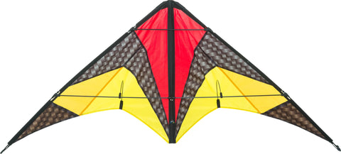 HQ Quickstep II Graphite Stunt Kite - SKY HIGH KITES