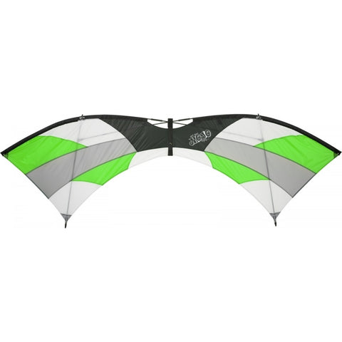 HQ Mojo Green Stunt Kite - SKY HIGH KITES