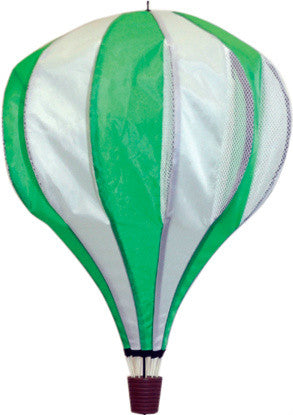 Large Hot Air Balloon Spinner - Green - SKY HIGH KITES - 1