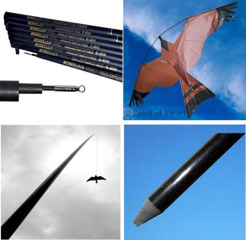 Hawk Bird Scarer Crop Protection Kit - SKY HIGH KITES