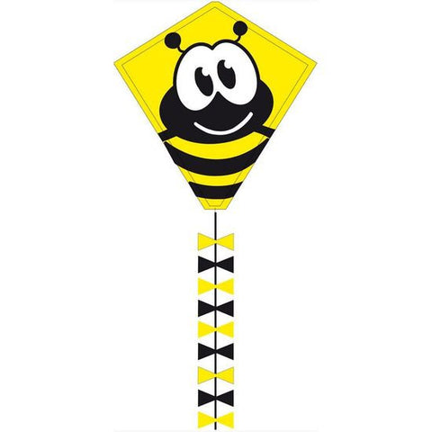 Eddy Bumble Bee Diamond Kite - SKY HIGH KITES - 1