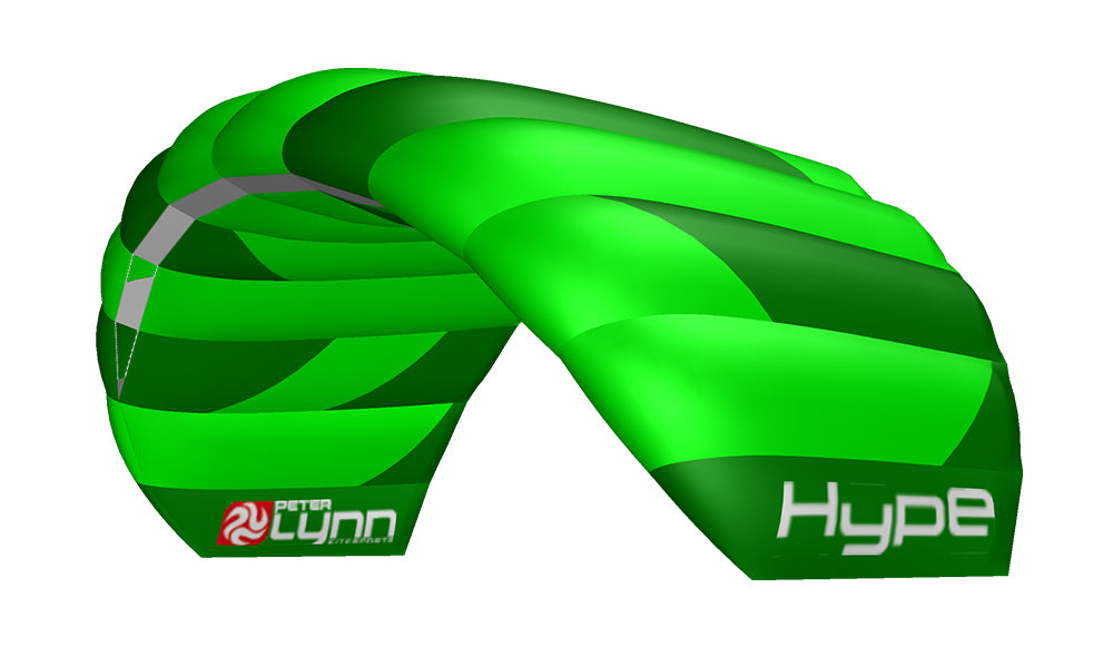 Peter Lynn Hype 2-Line Power Kite 1.9m - Green