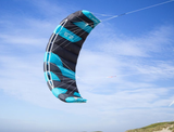 Peter Lynn Hype Trainer 2-Line Power Kite 2.3m-Charcoal /Aqua