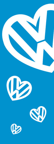 I Love VW Banner Flag - SKY HIGH KITES