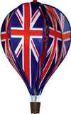 Hot Air Balloon Spinner - Union Jack - SKY HIGH KITES - 1