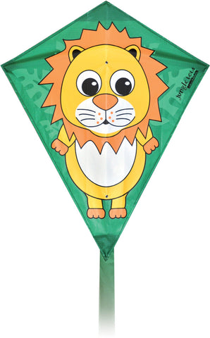 Jungle Tots Diamond Kite - Lion - SKY HIGH KITES