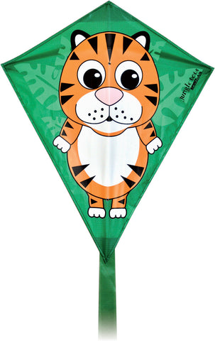 Jungle Tots Diamond Kite - Tiger - SKY HIGH KITES