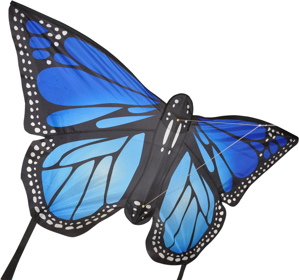 Large Monarch Butterfly Kite - Blue - SKY HIGH KITES