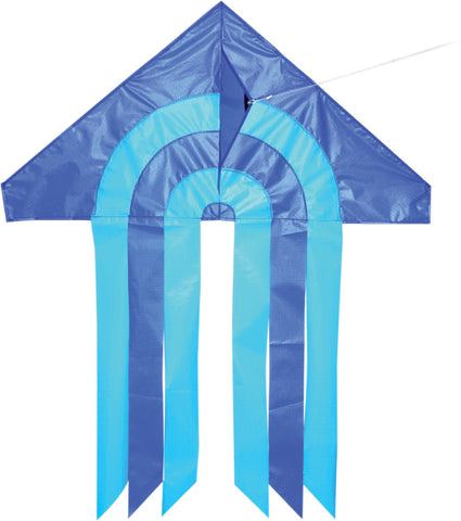 Mini Delta Arch Kite - Blue - SKY HIGH KITES