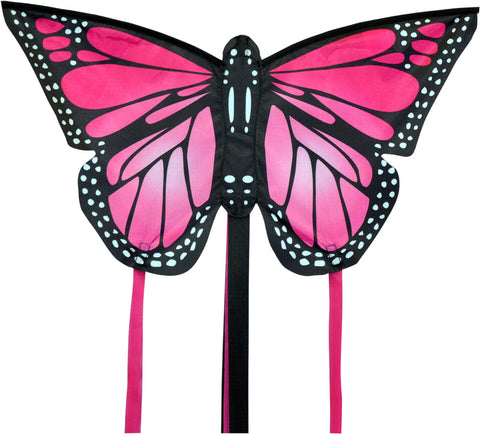 Small Monarch Butterfly Kite - Pink - SKY HIGH KITES
